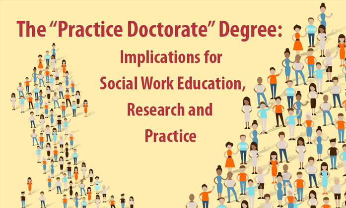 """The """"Practice Doctorate"""" Degree: Implications for Social Work Education, Research and Practice image."""