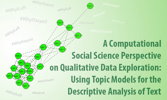 A Computational Social Science Perspective on Qualitative Data Exploration: Using Topic Models for the Descriptive Analysis of Text image.